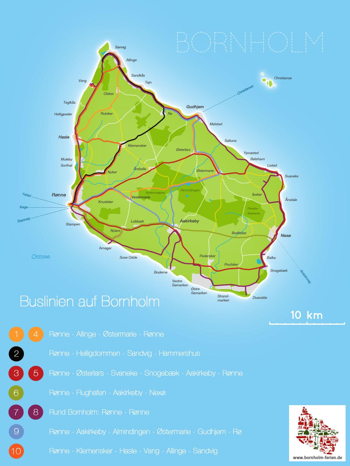 Kartebusbornholmjpg Bornhholm Holiday Trips - Sweden bus map